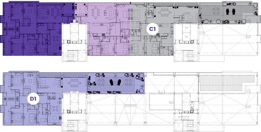Roof garden houses en quer taro juriquilla towers for Roof garden floor plan